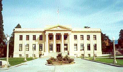 History of Inyo County Courthouse